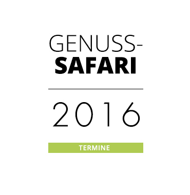 Genuss-Safari Termine